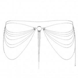 Bijoux Indiscrets Magnifique Waist Jewelry Silver