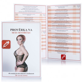 Erotic game Prověrka na sexy sestřičku Czech Version