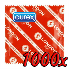 Durex London Rot 1000 pack