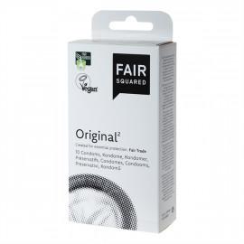 Fair Squared Original - Fair Trade Vegan Condoms 10 pack