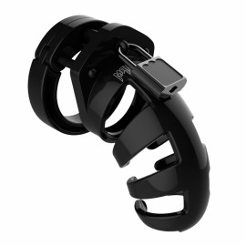 Shots ManCage Chastity Cock Cage 3.5 Inch Model 02 Black