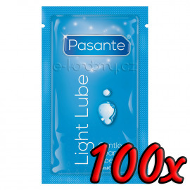Pasante Gentle Light Lube 10ml 100 pack