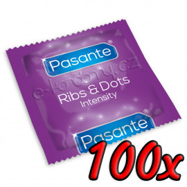 Pasante Ribs & Dots 100 pack