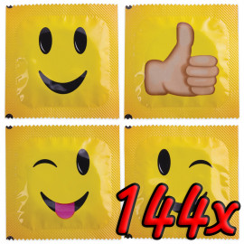 Pasante Smiley Face 144 pack
