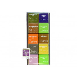 Francois Pralus Degustation set Intro 50g 10 pack