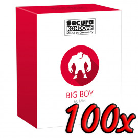 Secura Big Boy 60mm 100 pack