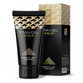 Titan Gel Gold Special Gel for Men 50ml