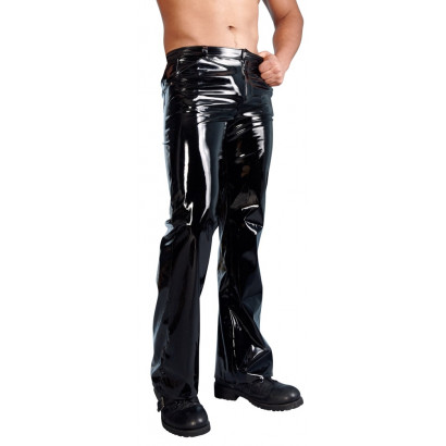 Black Level Men's Vinyl Trousers 2890348