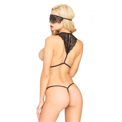 Leg Avenue Body harness, Mask, String 81522