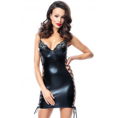 Demoniq Aline Dress Black