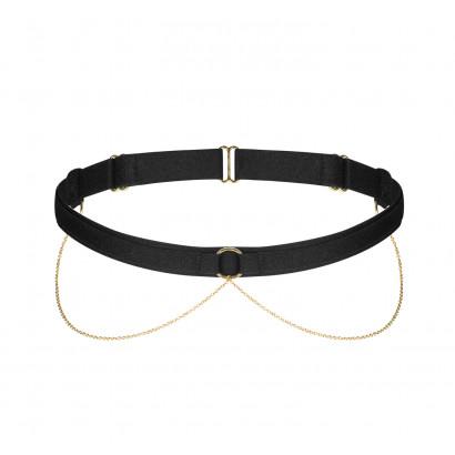 Petitenoir Garter with Golden Chains 2418