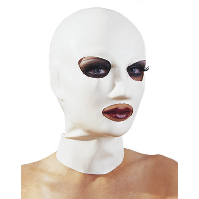LateX Latex Mask - Latex Face Mask White