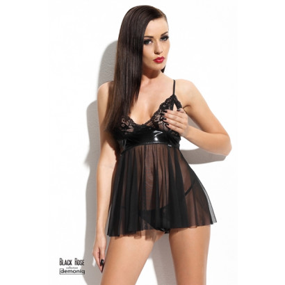 Demoniq Klara Lady Erotic set Black
