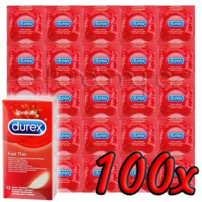 Durex Feel Thin 100 pack