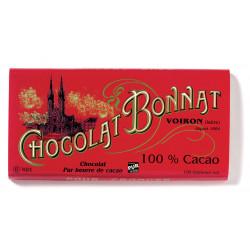 Bonnat Noir 100% Cacao 100g