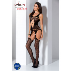 Passion Bodystocking BS057 Black