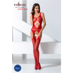 Passion Bodystocking BS057 Red