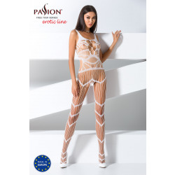 Passion Bodystocking BS058 White