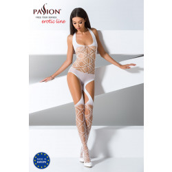 Passion Bodystocking BS060 White