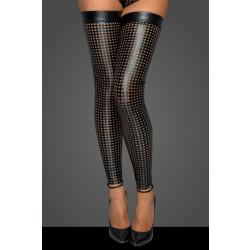 Noir Handmade F236 Lacercut Stockings