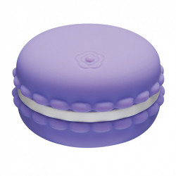 Kawaii Macaroon Massager Blackcurrant Violet
