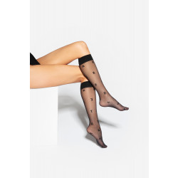 Gatta Trendy 03 Knee Socks Nero