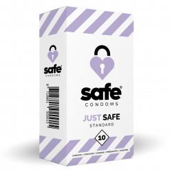 Safe Just Safe Condoms Standard 10 pack