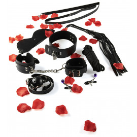 ToyJoy Amazing Bondage Sex Toy Kit Black