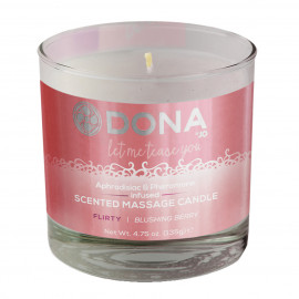 Dona Massage Candle Blushing Berry 135g