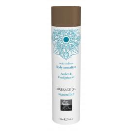 Shiatsu Massage Oil Masculine Amber & Eucalyptus Oil 100ml
