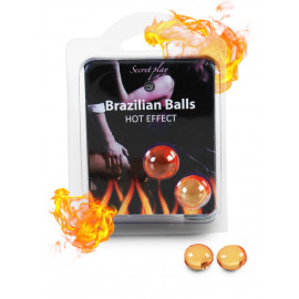 Secret Play Brazilian Balls Hot Effect 2 pack