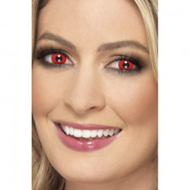 Smiffys Accessoreyes Devil Red