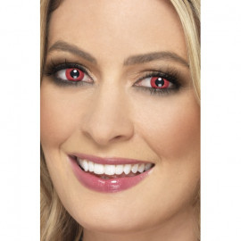 Smiffys Accessoreyes Electro Red