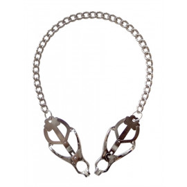 Mister B Japanese Clover Clamps On Chain