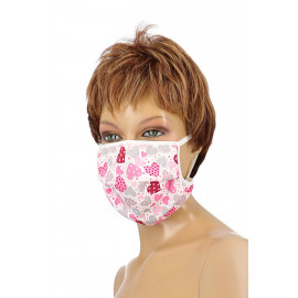 Passion Face Mask Cotton Cover 40 Hearts