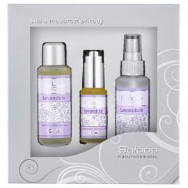 Saloos Levandule - Gift Box Three Steps To Beauty