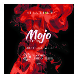 Intimate Earth Mojo Horny Goat Weed Libido Warming Glide 3ml