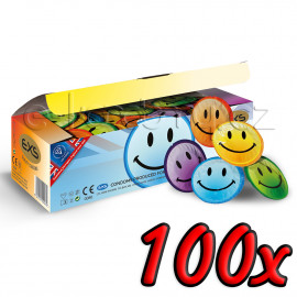 EXS Smiley Face 100 pack