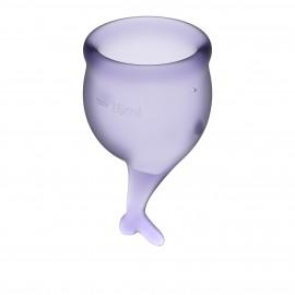 Satisfyer Feel Secure Menstrual Cup Lilla