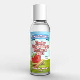 Vince & Michaels Flavored Lubricant Fruity Strawberry Rhubarb Bliss 50ml