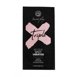 Secret Play Triple X Unisex Pleasure Enhancer Gel 2ml