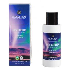 Secret Play Hybrid Lubricant Aloe Vera & Olive Oil 100ml