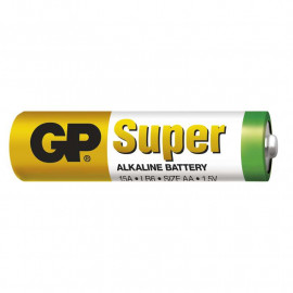 Battery Alkaline GP Super AA 1 pc