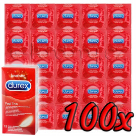 Durex Feel Thin 100 pack