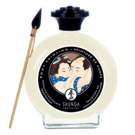 Shunga Body Painting Vanilla & Chocolate Temptation 100ml
