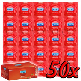 Durex Strawberry 50 pack