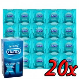 Durex Comfort XL 20 pack