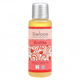 Saloos Erotika - Bio Body and Massage Oil 50ml