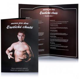Erotic game Menu pro dva Erotic chutě Czech Version