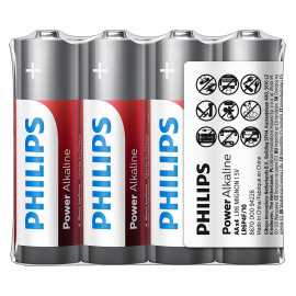 Philips Power Alkaline AA 4 pack